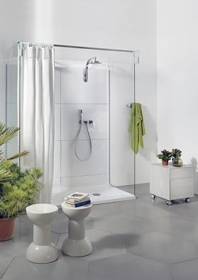 Sprchový kout jako stavebnice
