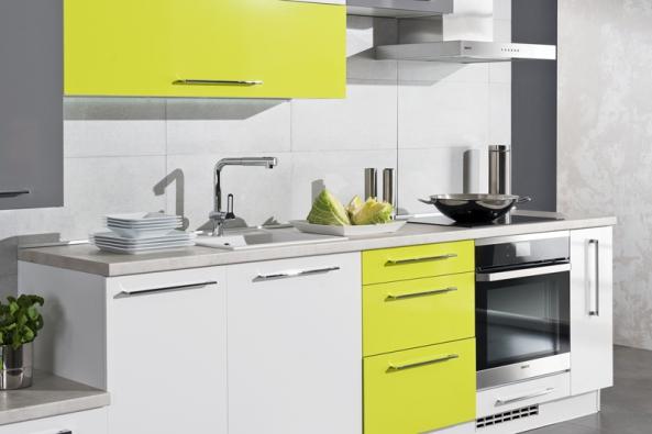 Kuchyňská linka vjednoduchém designu avtrendy barvách Dara Fresh zkolekce Natural (Siko-koupelny), kombinace pistáciová, bílá, antracitově šedá, cena od7821 Kč/bmKuchyňská linka vjednoduchém designu avtrendy barvách Dara Fresh zkolekce Natural (Siko-koupelny), kombinace pistáciová, bílá, antracitově šedá, cena od7821 Kč/bm.