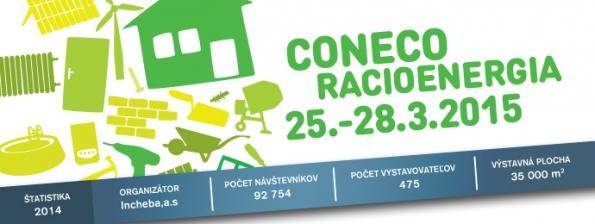 Pozvánka na veletrhy CONECO a RACIOENERGIE