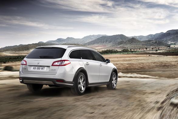 Peugeot: Pro modely 508 tříletý servis zdarma, 508 RXH se velkým zvýhodněním