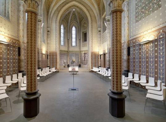 Rekonstrukce kostela Svaté Rodiny