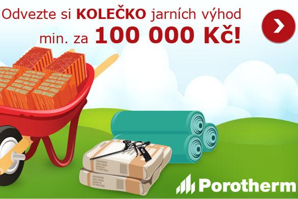 Výhody pro váš dům za 100 000 Kč