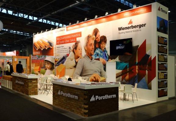 Společnost  Wienerberger cihlářský průmysl, a. s. byla na letošním veletrhu IBF oceněna zlatou medailí za broušenou cihlu Porotherm 38 TS Profi.