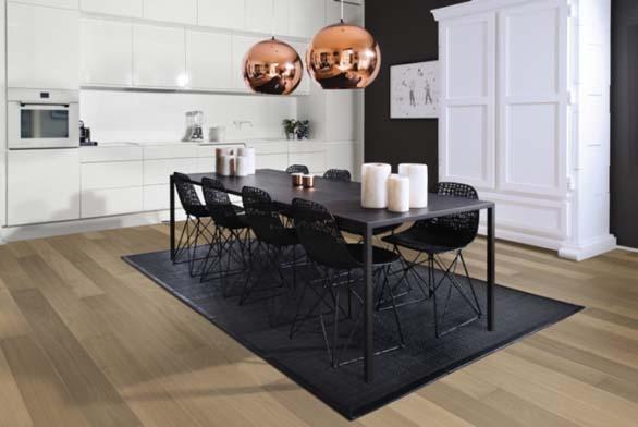 Dřevěná podlaha KÄHRS | Kolekce Capital, dekor Dub Berlin, prodává KPP