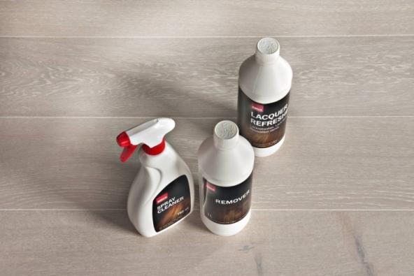 Přípravky Kährs | Spray Cleaner, Remover, Lacquer Refresher, prodává KPP
