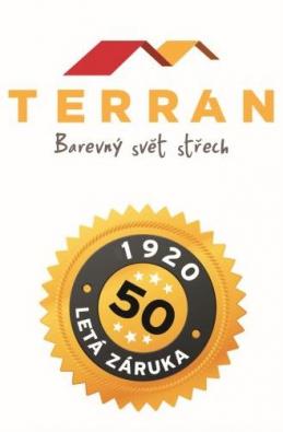 Využijte jedinečnou záruku 50 let na střešní krytinu Mediterran.