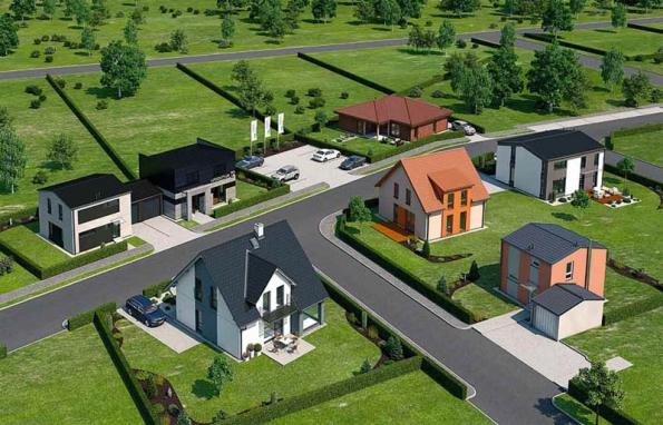 Vrámci první etapy byl v Nehvizdech dokončen soubor šesti domů, které se liší velikostí, dispozicí i stylem.