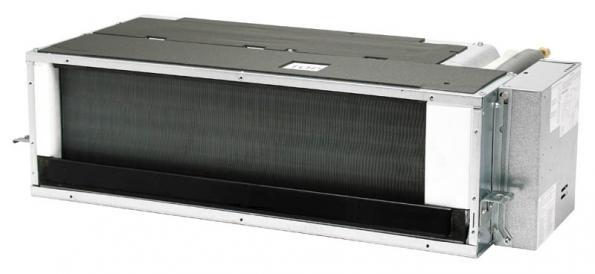5 kW kanálová jednotka v interiéru