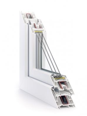 Nový okenní systém SYNEGO s80 mm stavební hloubkou a Uw až 0,66 W/m2K