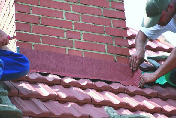 Hliníkový těsnicí pás na střechu