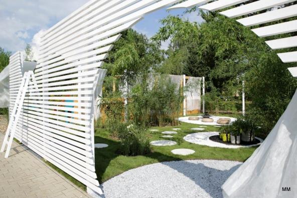 2. místo zahrada č. 3 JAKUB CIGLER ARCHITEKTI a.s. – DÍRA V PLOTĚ (foto: Marie Moravcová).