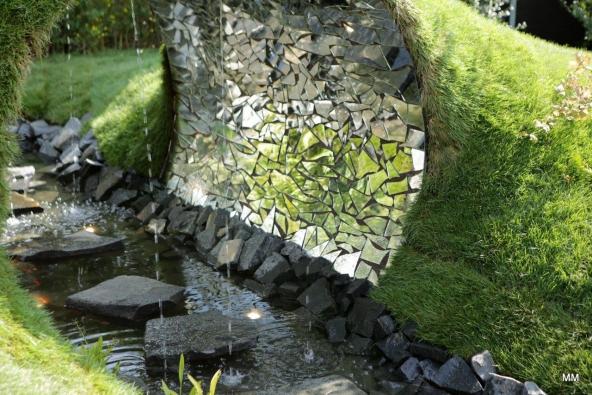 3. místo zahrada č. 1 Ing. Filip Zikmund - Garden Art – PRSTEN PRO PRINCEZNU (foto: Marie Moravcová).