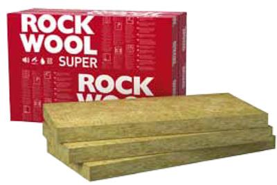 Kamenná vlna ROCKWOOL SUPERROCK je díky svým vlastnostem vhodná pro tepelné, protipožární i akustické izolace.