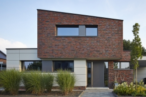 Dům v německém Rheine je domovem i kanceláří