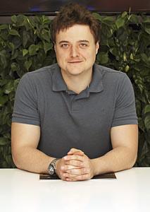 Benjamin Raich, Project Manager společnosti Luxusní povrchy Němec