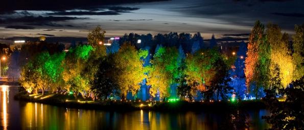 Začíná třetí ročník festivalu světla (Kari - Kola Magical Garden). Zdroj: www.signalfestival.com.