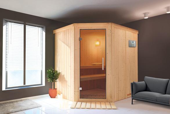 Finská sauna Tuula