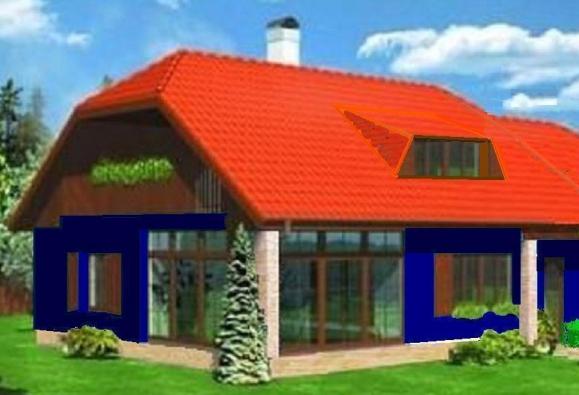 """Rodinný dům Čekves® """"Modrá řada"""" s autorskými právy je určen pro aplikaci nejnovější solární technologie – světového unikátu, která má docílit roční nulové energetické spotřeby nejen v elektřině, ale také v topení a teplé vodě současně."""