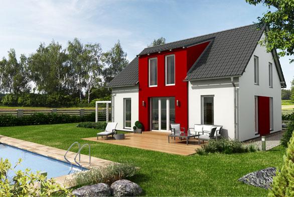 Chytře vyřešený exteriér iinteriér domu CANABA CLASSIC dobře ladí satraktivní cenou, která zpřístupňuje bydlení vevlastním domě imladým rodinám. Díky kompaktním rozměrům lze dům umístit inamenší parcelu.