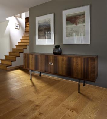 Dřevěná krytina KÄHRS   Kolekce Classic Nouveau Collection, dekor Dub Nouveau Bronze, prodává KPP