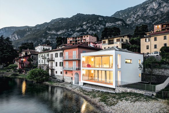 Dům u jezera Como - Itálie, Schüco CZ, foto kredit Marcello Mariana