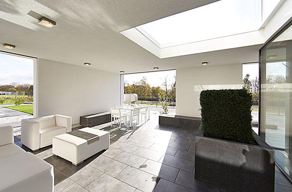 Roční potřeba tepla na vytápění domu Okal Exklusive je zhruba 17 200 kWh (tedy cca 75 Kč/m²/rok).