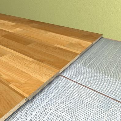 Protože v koupelnách bývá požadována vyšší teplota podlahy, kromě standardního příkonu 80 W/m2 jsou rohože AL-MAT i v příkonu 140 W/m2 (FENIX ).