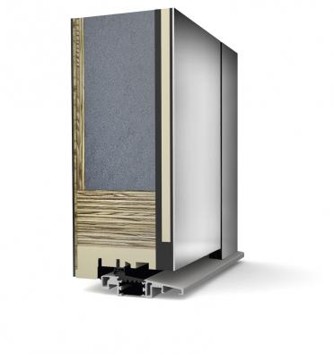 Speciálním materiálovým složením dřevo/vysoce tepelněizolační pěna/Al jsou dřevo-hliníkové systémy vchodových dveří vhodné pro nízkoenergetické a energeticky pasivní domy (INTERNORM).