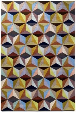60. léta: Koberec Cubic (BoConcept), 170 x 240cm, www.boconcept.com