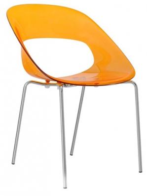 70. léta: Plastová židle Tribeca (Alba), konstrukce zoceli, www.atan.cz
