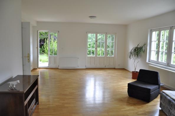 Obývací pokoj - původní stav