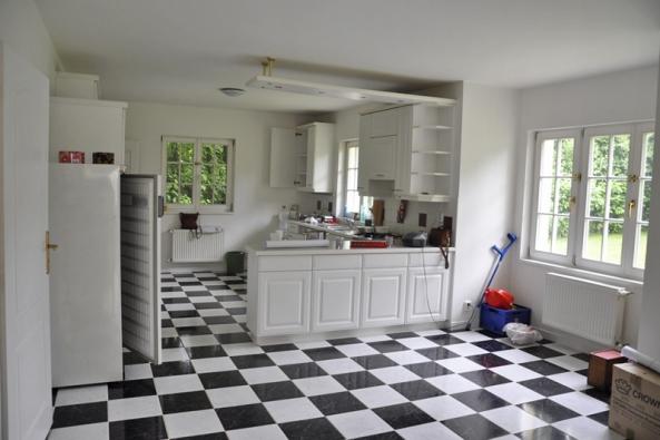 Kuchyň - původní stav