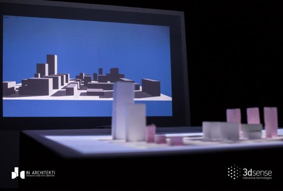 Fyzický model vytváří virtuální model a umožňuje simultánní práci v rozšířené realitě.