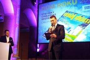 Ve středu 24. února byly vyhlášeny výsledky 21. ročníku soutěžní ankety pořádané časopisem MŮJ DŮM s názvem DŮM ROKU 2016. Soutěžilo se v několika kategoriích a vítěze vybírali čtenáři i odborná porota.