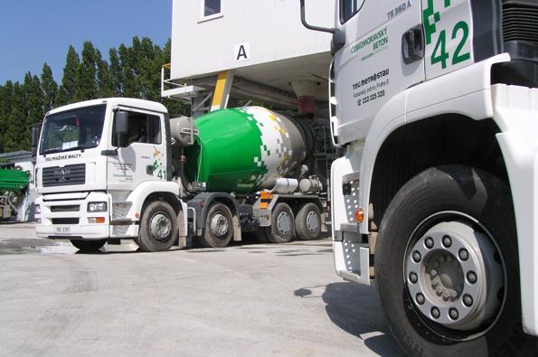 Doprava betonu vyžaduje důslednou organizaci.