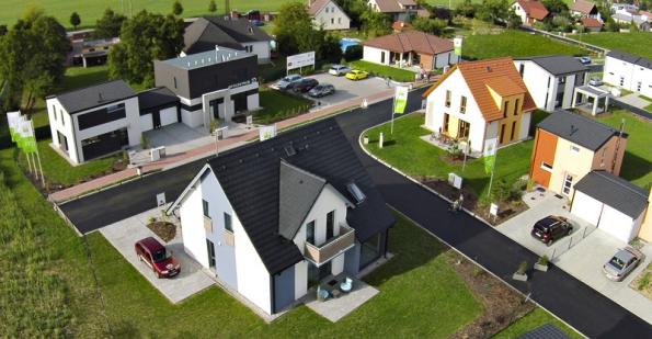 Centrum vzorových domů v Praze-Nehvizdech