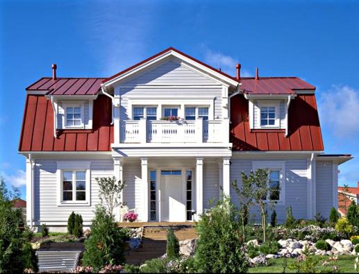 Střechy Ruukki představují pověstnou finskou kvalitu. Není divu, jsou původně navrženy pro náročné severské klima.