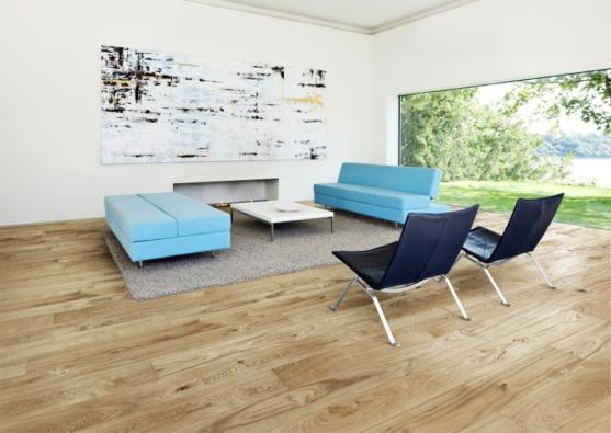 Dřevěná podlaha KÄHRS, kolekce European Naturals, dekor Dub Cornwall, prodává KPP.