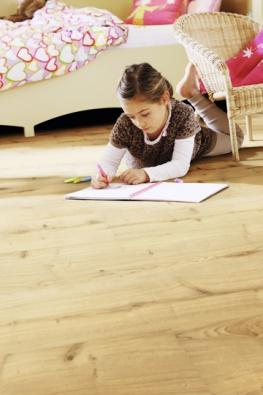 Ekologická elastická podlaha Wineo PURLINE, kolekce Wood, dekor Dub Garden, prodává KPP.