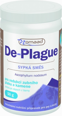 Preparát proti zubnímu plaku pro psy Nomaad De-Plague