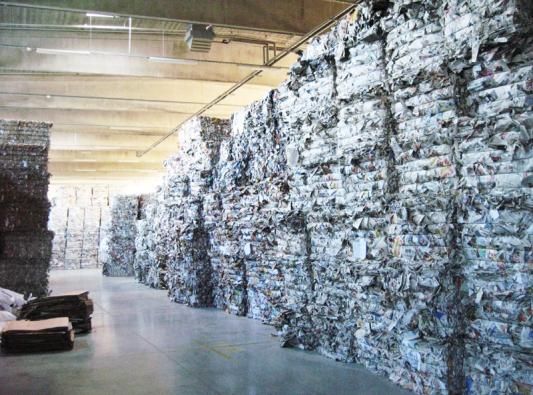 Výrobní závod - třídění odpadů, foto CIUR a.s.