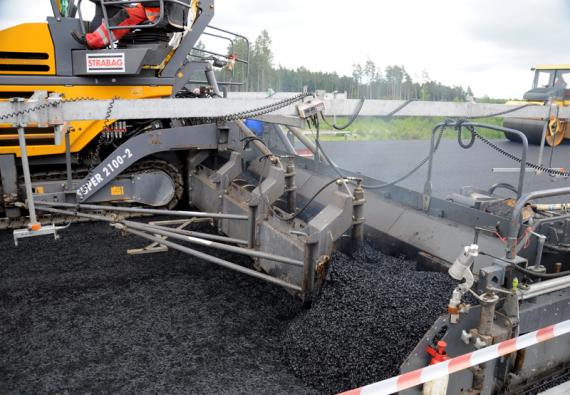 CIUR a.s. dodává průmyslová vlákna také pro silniční stavitelství.