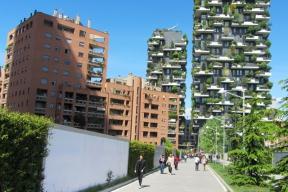 Porta Nuova, Miláno: Vertikální les