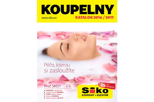 Nový SIKO katalog KOUPELEN 2016/2017 je tu!