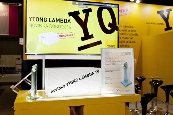 Oceněná tvárnice Lambda YQ patří do tepelněizolační řady, které jsou určené pro jednovrstvé zdění bez zateplování.