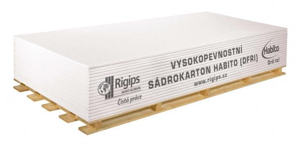 Svými vlastnostmi je sádrokartonová deska Habito schopna takřka plnohodnotně nahradit zděné příčky.