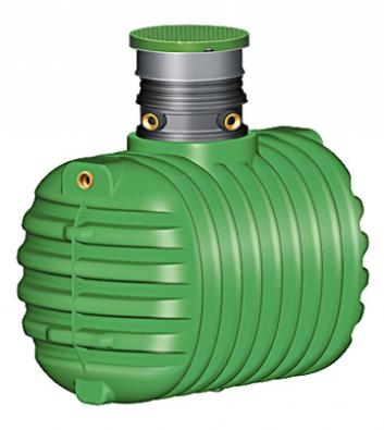Nádrže na dešťovou vodu Garantia jsou monolitické konstrukce, které není třeba obetonovávat (NICOLL).
