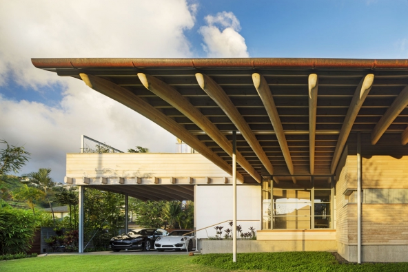 2016 AIA Housing Awards: Island Residence, foto: Nic Lehoux