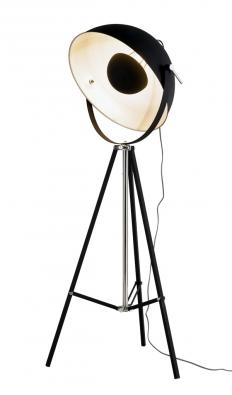 Bowl (Kare) je inspirovaná reflektory zfotoateliérů, konstrukce zmatně lakovaného kovu, výška 160cm, www.kare-shop.cz