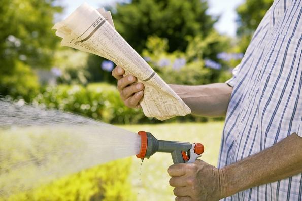 Spoléhat se jen nadéšť, chcete-li mít svěže zelený trávník, se nemusí vyplatit.